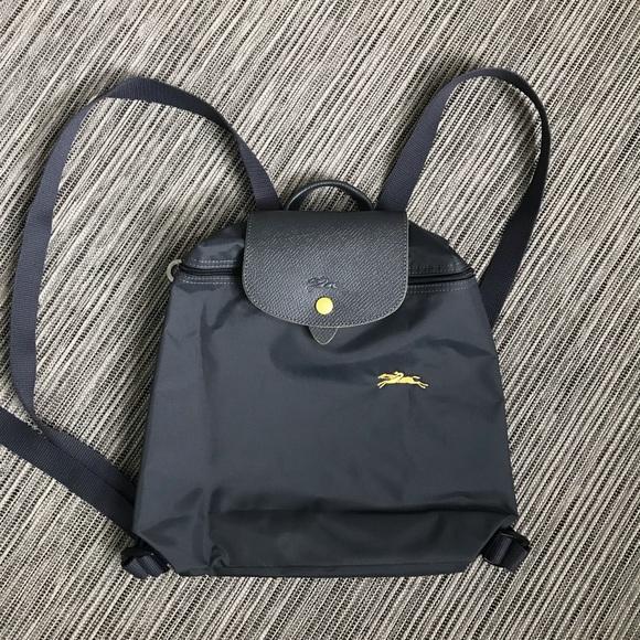 EUC Longchamp Le Pliage club Backpack